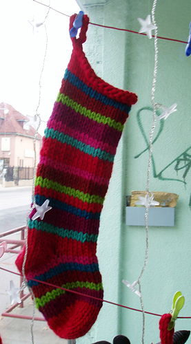 Ravelry: Quick & Easy Christmas Stocking pattern by Haley ...