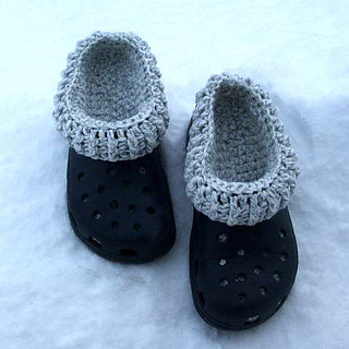 Ravelry: Clog Liners pattern by Carol