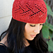 Eyelet & Twigs Hat pattern
