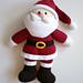 """Santa and Mrs Claus: Santa (14.5"""") pattern"""