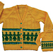 Friends Forever Child's Mosaic Cardigan pattern