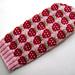 Strawberry Mittens pattern