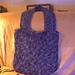 Mitered Squares Felted Bag pattern