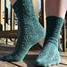 Child's Sock in Miranda Pattern pattern