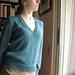 Deep V Sweater pattern