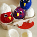 Marvel Eggs & Chicks pattern