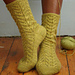 Lacy Cable Socks pattern