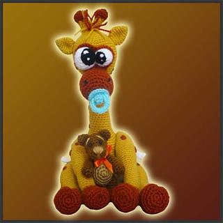Amigurumi Crochet Giraffe Pattern by Little Bear Crochets ... | 320x320