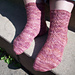Bois de Rose Socks pattern