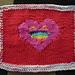 valentine dishcloth pattern