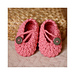 Pretty in Pink Baby Booties pattern