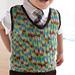 Sock It To Me Sweater Vest pattern