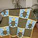 Bee Squares Blanket pattern