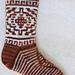 Burntwater Socks pattern