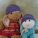 Brioche Baby Hat pattern