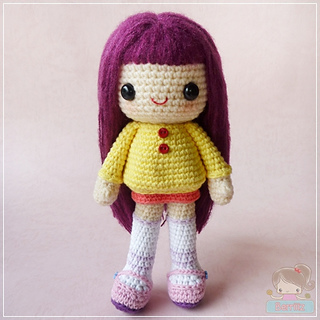 Amigurumi Emma Doll English Pattern | Amigurumi, Patrones, Ganchillo | 320x320