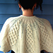 Kathy Kelly Cabled Capelet pattern