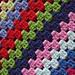 Granny Stripes Shawl pattern