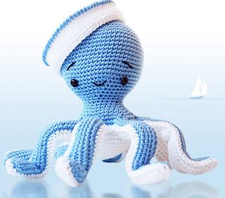 Baby Knitting Patterns Crochet pattern Octopus XXL OliMori ... | 282x320