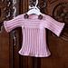 Knit-look Baby Sweater pattern