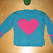 Little Girl Big Heart Pullover pattern