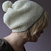 pompon and seeds hat pattern