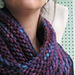 Bulky Mobius Cowl pattern
