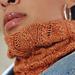 Autumn Swirls Cowl pattern