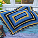 Rectangle Granny Afghan pattern