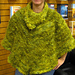 Poncho With Flowing Collar (Archived) pattern