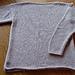 Grey Angora Boatneck pattern