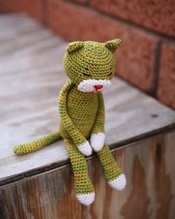 Amigurumi Beans the Cat Softies Toy Free Knitting Pattern - Knit ...   320x256