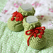 Baby Berry Booties pattern