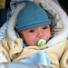 Knotted Newborn Hat pattern