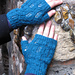 Tower Bridge Mitts pattern