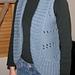 Knitted Body Warmer pattern