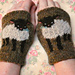 baby lamb cuffs pattern
