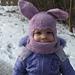 Bunnyclava Toddler Balaclava pattern