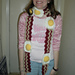 Bacon and Eggs Scarf pattern
