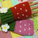 Strawberry Fingerless Mittens pattern