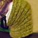 Radial Heat Cowl pattern