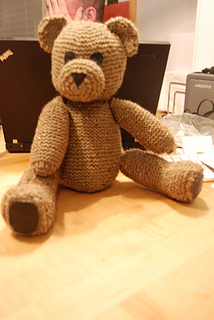 Ravelry: Crocheted Teddy Bear pattern by Sonea Delvon #Crochet ... | 320x214