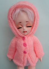 hooded cardigan for bjd