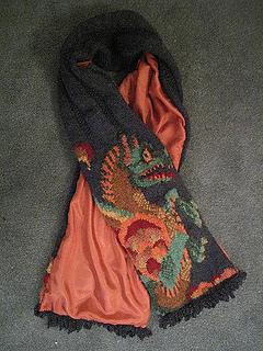 Dragon Scarf