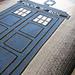 Doctor Who TARDIS Afghan pattern