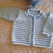 Striped Cardigan pattern