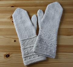 Ravelry: Twined Knitting Mittens pattern by Maschas Maschen
