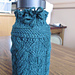Cable Bottle Cozy pattern