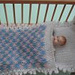 Doll's House Baby Cot Bedding pattern
