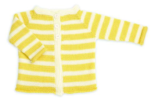 Striped Baby Cardi